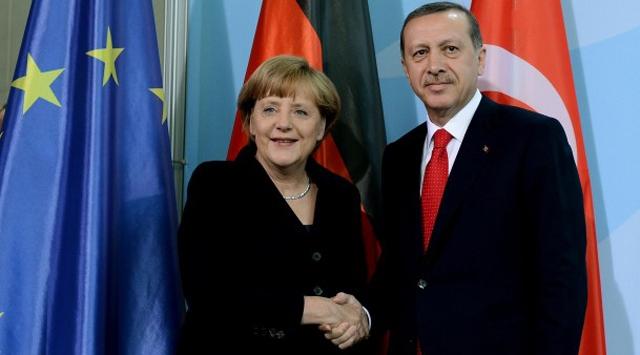 Merkel'den Erdoğan'a tebrik telefonu