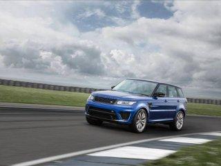 En hızlı SUV Range Rover Sport SVR