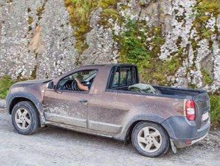 Dacia Duster'a pick-up versiyon geliyor