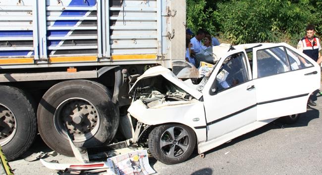 Edremit'te trafik kazası: 4 yaralı