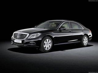Mercedes yeni aracı S600 Guard'ı tanıttı – Foto Galeri