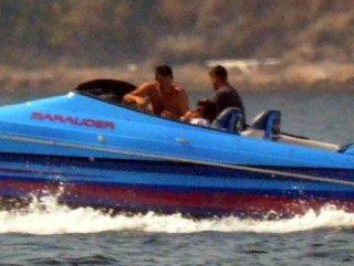 Acun Ilıcalı milyon dolarlık teknesiyle Bodrum'da