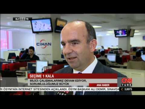 CNN TURK, Cihan Haber Ajansı 2014 seçim çalışmaları