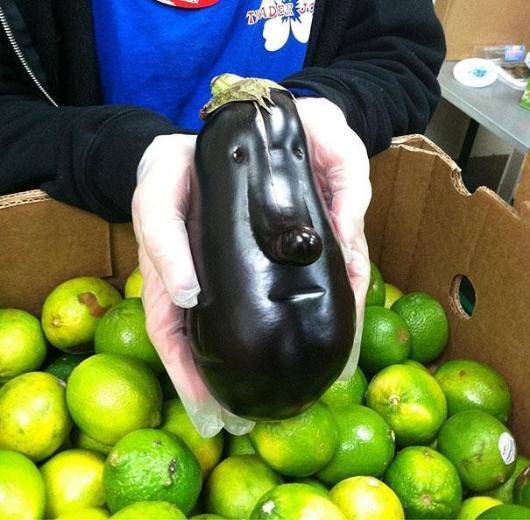 Dünyanın en tuhaf şekli bozuk sebzeler