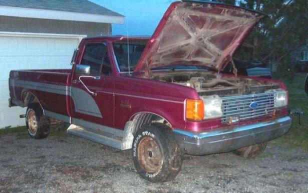 Eski kamyonunu bakın ne hale getirdi