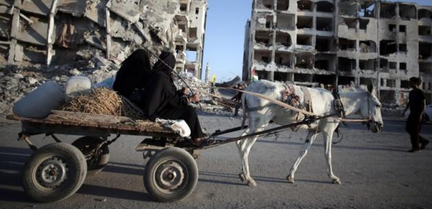 Gazze'de ölü sayısı bin 962 oldu