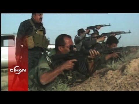 Kerkük'te Peşmerge ile IŞİD militanları arasında sıcak çatışma