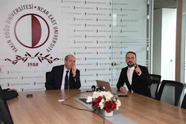 BAŞBAKAN TATAR'A  İLK YERLİ OTOMOBİL GÜNSEL'İN PROJESİ ÖZEL BİR SUNUMLA ANLATILDI