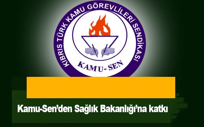Kamu-Sen'den Sağlık Bakanlığı'na katkı