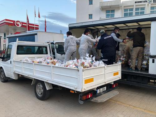 Sivil Savunma, Kızılay ve Vakıflar, Karpaz için yardıma davet edildi