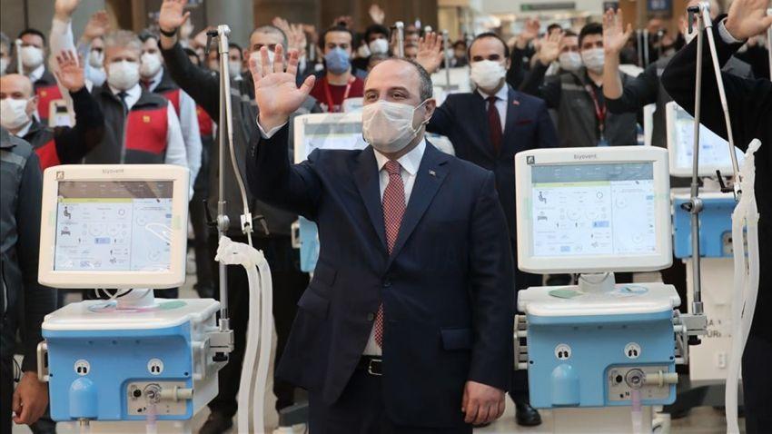Bakan Varank: Mayıs Sonuna Kadar 5 Bin Solunum Cihazı Üretilecek