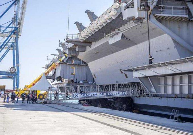 Güney Kıbrıs'a destek için gönderilen Fransız uçak gemisinde 668 vaka