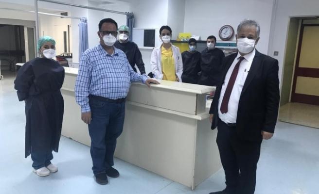 Bakan Pilli'den Devlet Hastanesi'ne Ziyaret