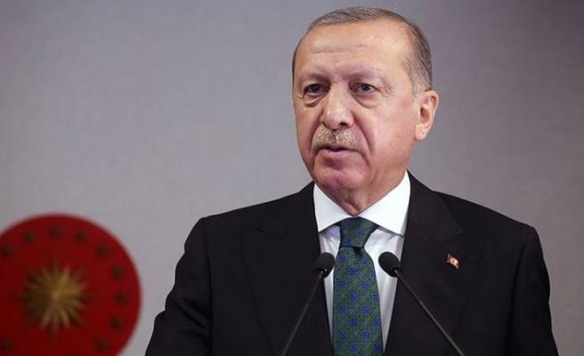Erdoğan: Ülkemizin önünde yeni fırsat pencereleri açılıyor