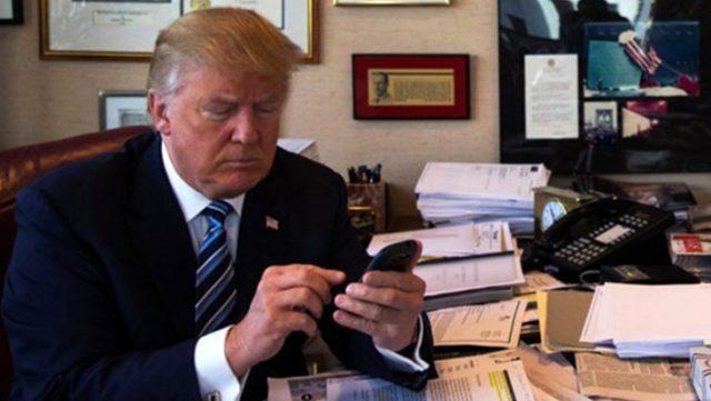 Koronavirüs günlerinde Trump'tan ilginç İran tweeti: Taciz olursa imha edin talimatı verdim