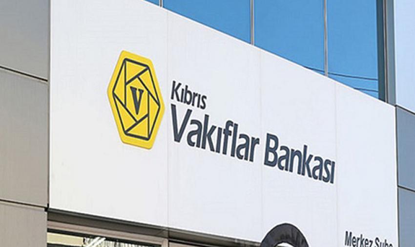 Vakıflar Bankası, Lefke'de çıkan koronavirüs'den dolayı Gemikonağı şubesini kapattı
