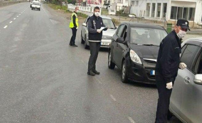 16 kişi sokağa çıkma yasağını ihlal etti! 10 kişi de maske takmadı