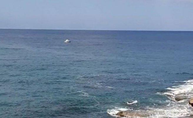 Denizde kaybolan şahsı arama çalışmaları devam ediyor