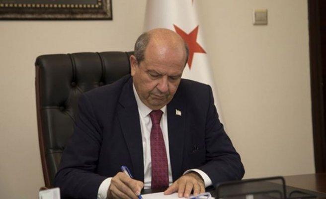 Başbakan Tatar, Başhakim Mehmet Zeka Bey için mesaj yayımladı
