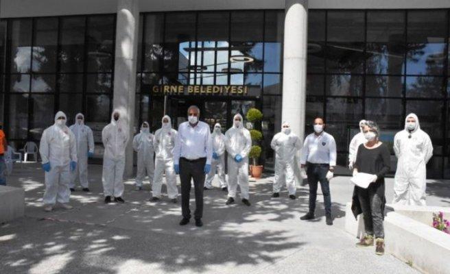 Belediyelerin koronavirüsü salgınına yönelik uygulamaları devam ediyor