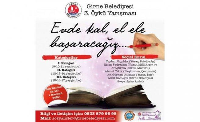 Girne Belediyesi 3. Öykü yarışması gerçekleştiriliyor