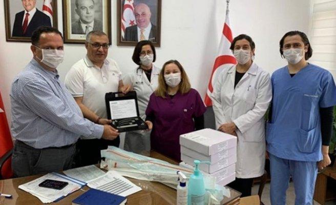 Kıbrıs Türk Tabipleri Odası'ndan hastaneye bağış
