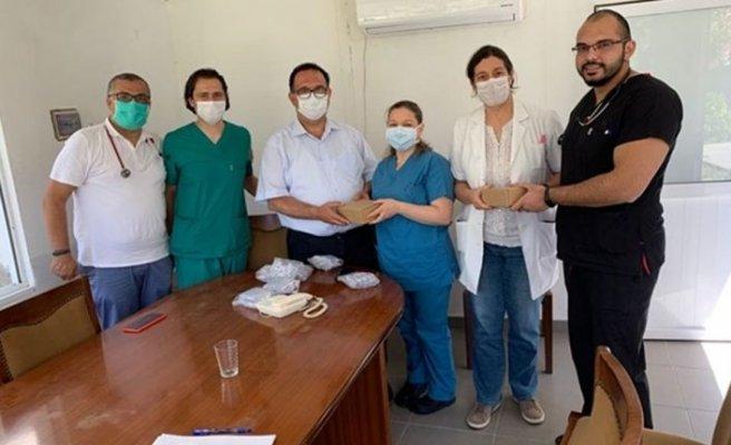 Kıbrıs Türk Tabipleri Odası'ndan hastaneye Kapnografi cihazı bağışı
