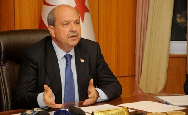 Tatar: Kıbrıs Türkü'nün Doğu Akdeniz'de Rumlar kadar hakkı var