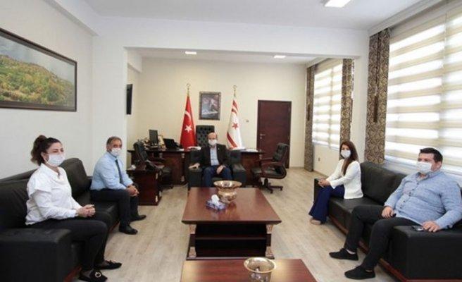 Tatar KITSAB Yönetim Kurulunu kabul etti