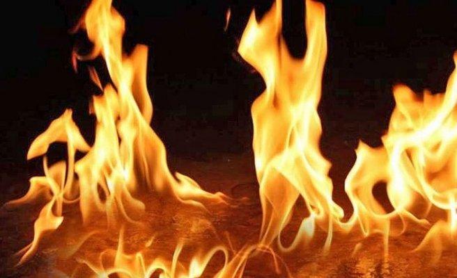 Türkmenköy'de yangın can aldı
