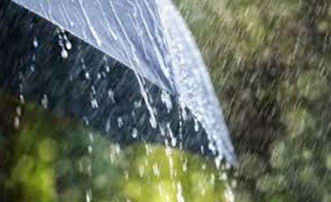 Yağmurlu hava salı gününe kadar devam edecek