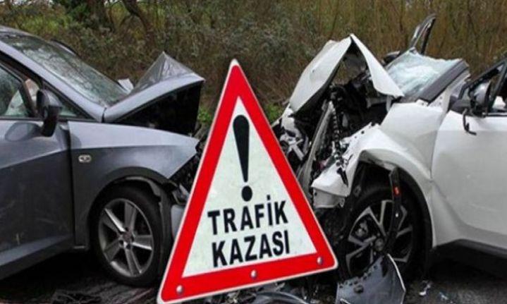 Lefkoşa'da Kaza: 4 kişi yaralandı