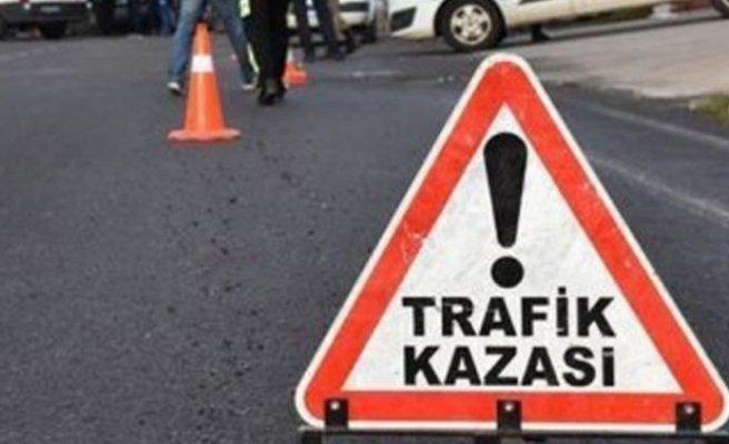 Alsancak'ta kaza 1 kişi yaralandı!
