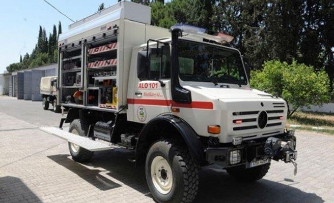 Arama-Kurtarma aracı Sivil Savunma Teşkilatı Başkanlığı'na teslim edildi