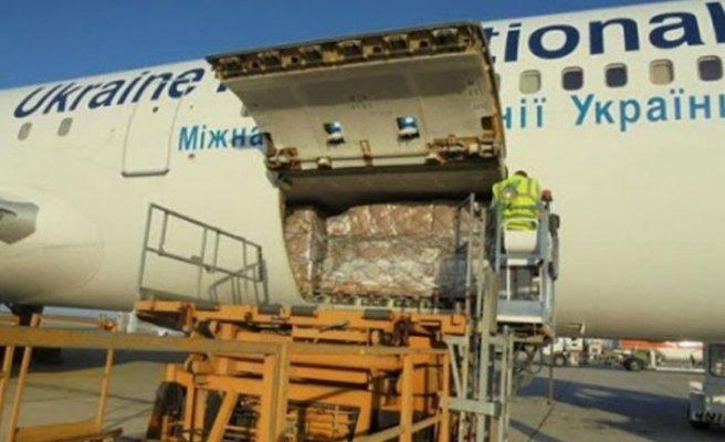 Çin'den Güney'e 24 ton tıbbi malzeme