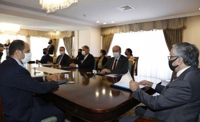 Cumhurbaşkanlığı'ndaki geçiş kapılarıyla ilgili toplantı tamamlandı