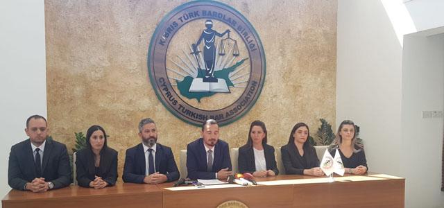 """Kıbrıs Türk Barolar Birliği: """"Konuyu Anayasa Mahkemesi'ne taşıyacağız"""""""