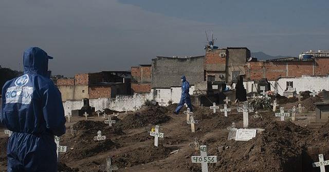 Kovid-19'dan son 24 saatte Brezilya'da 641, Meksika'da 1044, Hindistan'da 445 kişi öldü