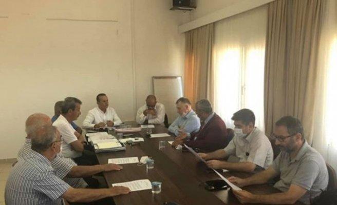 Lefke'de maden konulu toplantı
