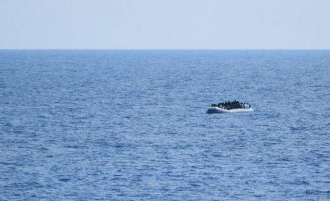 Libya açıklarında 185 düzensiz göçmen yakalandı