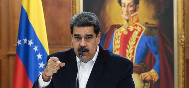 Maduro, AB Temsilcisine 72 Saat Verdi