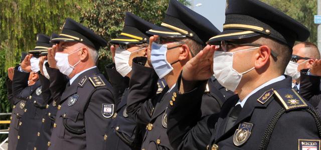 Polis Örgütü'nün 56'ncı Kuruluş Yıldönümü Kutlanıyor