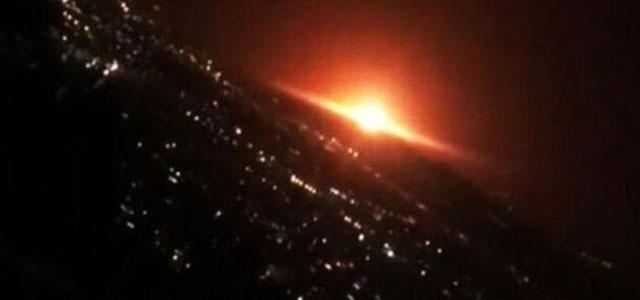 Tahran'ın Doğusunda Büyük Bir Patlama Meydana Geldi