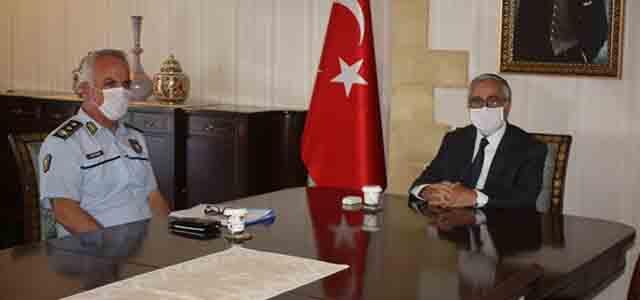 Akıncı, Polis Genel Müdürü Ahmet Soyalan'ı Kabul Etti