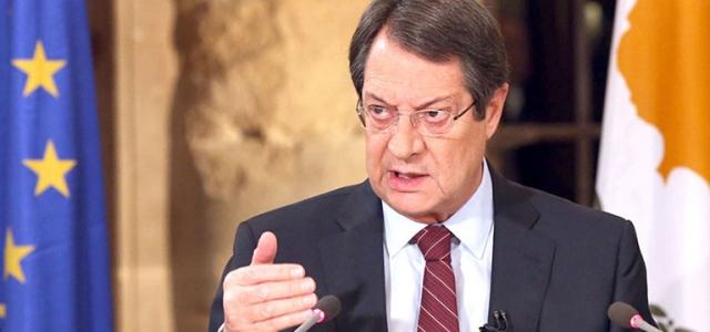 Anastasiadis: 'Kıbrıs sorununda hiçbir zaman şantajı kabul etmeyeceğiz'