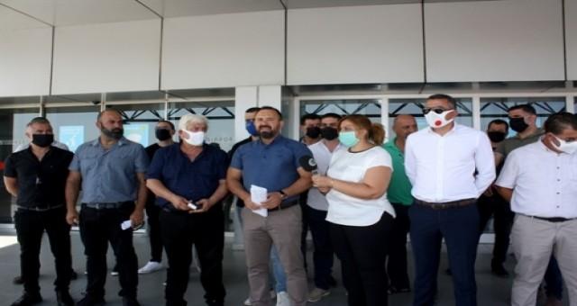 Ülkeye giriş noktalarında örgütlü 6 sendika grev başlattı