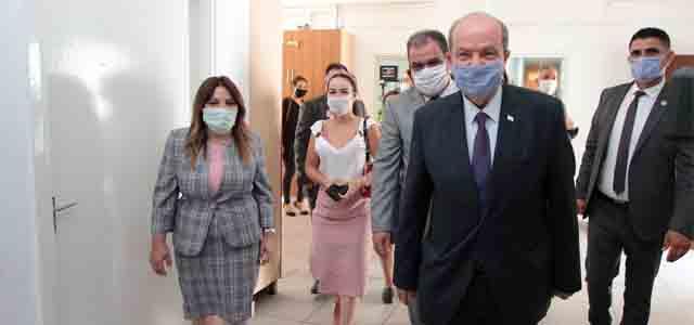 Başbakan Ersin Tatar Çağlayan Çocuk Yuvası'nı Ziyaret Etti