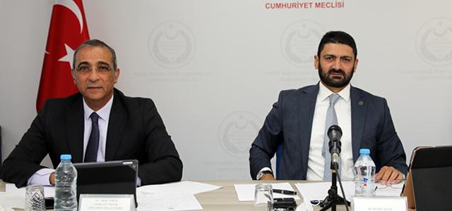'Ekonomi, Maliye, Bütçe Ve Plan Komitesi Toplandı'