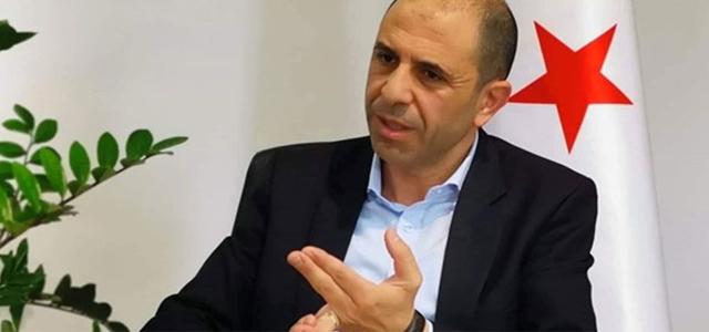 """Özersay: """"Güney Kıbrıs'ın yaklaşımı ekonomimizi hedef alan bir yaklaşımdır"""""""