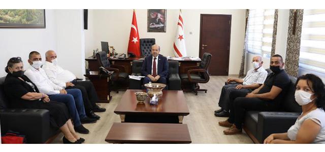 Tatar, Akıncılar Belediye Başkanı Ve Beraberindeki Heyeti Kabul Etti